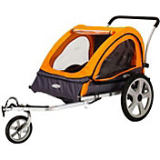 InSTEP Quick N EZ 10 Double Bike Trailer and Stroller