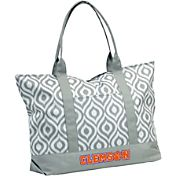 Clemson Tigers Ikat Tote