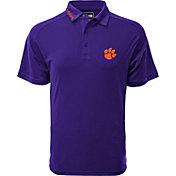 Levelwear Men's Clemson Tigers Regalia Tactical Polo