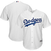 Majestic Men's Replica Los Angeles Dodgers Cool Base Home White Jersey