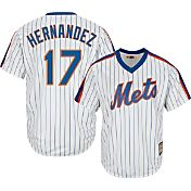 Majestic Men's Replica New York Mets Keith Hernandez Cool Base White Cooperstown Jersey