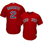 Majestic Men's Replica Boston Red Sox Xander Bogaerts #2 Cool Base Alternate Red Jersey