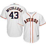 Majestic Men's Replica Houston Astros Lance McCullers #43 Cool Base Home White Jersey