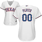 Majestic Women's Full Roster Cool Base Replica Texas Rangers Home White Jersey