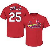 Majestic Youth St. Louis Cardinals Dexter Fowler #25 Red T-Shirt