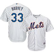 Majestic Youth Replica New York Mets Matt Harvey #33 Cool Base Home White Jersey