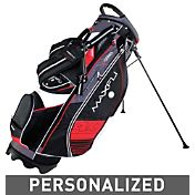 Maxfli U/Series 4.0 Personalized Stand Bag – Black/Charcoal/Red