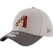 New Era Men's Arizona Diamondbacks 39Thirty Diamond Era Grey Flex Hat