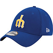 New Era Men's Seattle Mariners 39Thirty Cooperstown Classic Royal Flex Hat