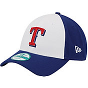 New Era Men's Texas Rangers 9Forty White/Royal Adjustable Hat