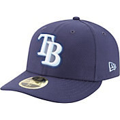 New Era Men's Tampa Bay Rays 59Fifty Diamond Era Navy Low Crown Fitted Hat
