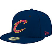 New Era Men's Cleveland Cavaliers 59Fifty Navy Fitted Hat