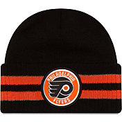 New Era Men's Philadelphia Flyers Two Stripe Remix Knit Hat