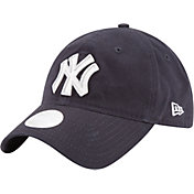 New Era Women's New York Yankees 9Twenty Team Glisten Navy Adjustable Hat