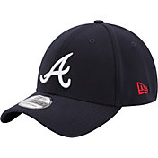 New Era Youth Atlanta Braves 39Thirty Classic Navy Flex Hat