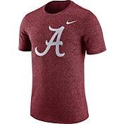 Nike Men's Alabama Crimson Tide Crimson Marled Logo T-Shirt
