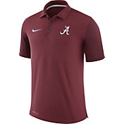 Nike Men's Alabama Crimson Tide Crimson Team Issue Football Sideline Performance Polo