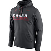 Nike Men's Alabama Crimson Tide Anthracite Circuit PO Hoodie