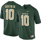 Nike Men's Robert Griffin III Baylor Bears #10 Green Replica College Alumni Jersey