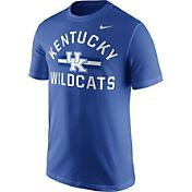 Nike Men's Kentucky Wildcats Blue Stadium Team First Stripe T-Shirt