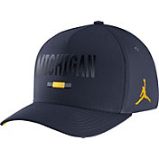 Jordan Men's Michigan Wolverines Blue Seasonal Swoosh Flex Classic99 Hat