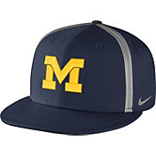 Nike Men's Michigan Wolverines Blue Champ Drive True Snapback Hat