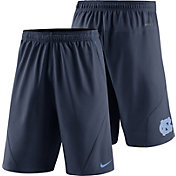 Nike Men's North Carolina Tar Heels Navy Fly XL 5.0 Football Sideline Shorts