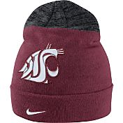 Nike Men's Washington State Cougars Crimson/Grey Sideline Beanie