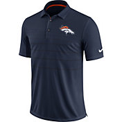 Nike Men's Denver Broncos Sideline 2017 Early Season Navy Polo
