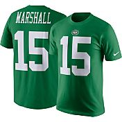 Nike Men's New York Jets Brandon Marshall #15 Pine Green T-Shirt