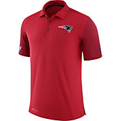 Nike Men's New England Patriots Sideline 2017 Team Issue Red Polo