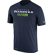 Nike Men's Seattle Seahawks All Football Legend Navy T-Shirt