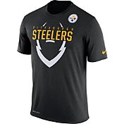 Nike Men's Pittsburgh Steelers Legend Icon Black T-Shirt