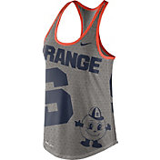 Nike Women's Syracuse Orange Grey Dri-Blend Gear Up Racerback Tank