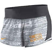 Nike Women's Tennessee Volunteers White/Gray Crew Performance Shorts