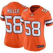 Nike Women's Color Rush 2016 Limited Jersey Denver Broncos Von Miller #58