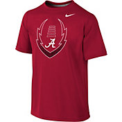 Nike Youth Alabama Crimson Tide Crimson Football Icon Legend T-Shirt