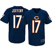 NFL Team Apparel Youth Chicago Bears Alshon Jeffery #17 Performance Navy T-Shirt