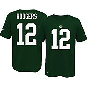 Nike Youth Green Bay Packers Aaron Rodgers #12 Green T-Shirt