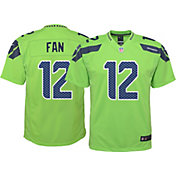 Nike Youth Color Rush 2016 Game Jersey Seattle Seahawks Fan #12