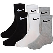 Nike Kids' Performance Crew Socks 6 Pack