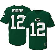 NFL Team Apparel Youth Green Bay Packers Aaron Rodgers #12 Green T-Shirt