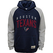 NFL Team Apparel Youth Houston Texans Foundation Navy Hoodie