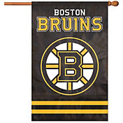 Party Animal Boston Bruins Applique Banner Flag