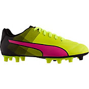 PUMA Kids' Adreno Tricks FG Soccer Cleats