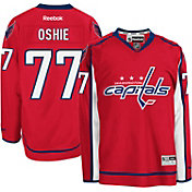 Reebok Men's Washington Capitals T.J. Oshie #77 Premier Replica Home Jersey