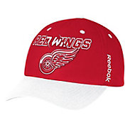 Reebok Men's Detroit Red Wings Red/White Structured Adjustable Hat