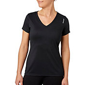 Reebok Women's Solid Performance V-Neck T-Shirt