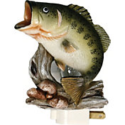 River's Edge Bass 3D Night Light with Sensor