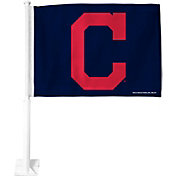 Rico Cleveland Indians Block C Car Flag
